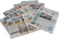 Pieter de Groot mei-oprjochter nije krante