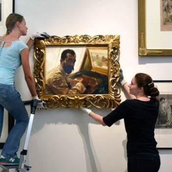 Ferlerne topstik Alma-Tadema fûn troch BBC