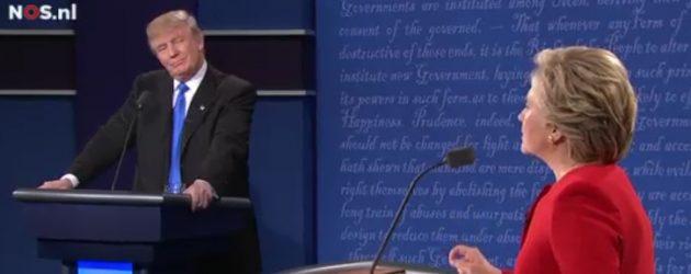 Clinton en Trump botse oer oanpak rasiale ûngelikensens yn earste debat