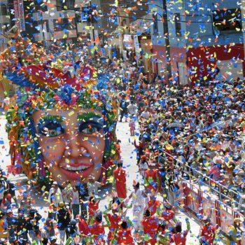Gjin karnaval yn protte Braziliaanske stêden