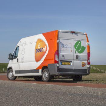 PostNL besoarget 100% útstjitfrij op it Waad