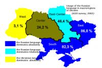 Oekraïne kriget nije taalwet