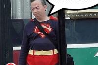 Efkes laitsje mei Superman!