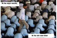 Efkes laitsje mei moslims!