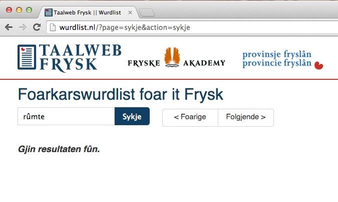 Frysk taalweb online yn nije stavering (bywurke) | It Nijs