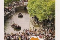 Hofstêd Ljouwert kleuret oranje