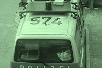 Auto ramt stek by kantoar Angela Merkel
