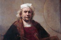 Lyts houten skilderij mooglik dochs fan Rembrandt