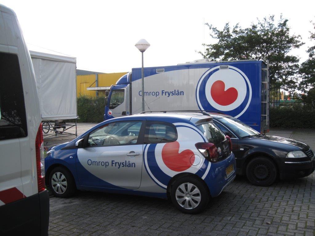 Omrop Fryslân auto's