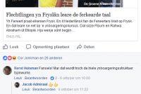 Protte reaksjes op stelling dat flechtlingen yn Fryslân Frysk leare moatte