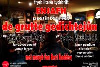Grutte Gedichtejûn yn Drachten op freed 8 febrewaris