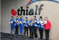 Twa teams Dockingakolleezje Ferwert nei finale NK ploege-efterfolging