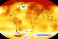 2018 fjirde waarmste jier op rige