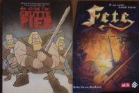 Twa histoaryske Fryske stripboeken