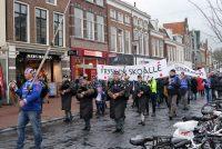 Stoarmeftige manifestaasje fan Boargeraksjegroep 'SisTsiis'