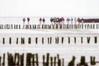 Reisbeynfloeders bringe UNESCO Waadsee Wrâlderfskip besite