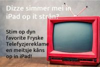 Oprop ta stimmen foar de Fryske Telefyzjereklame Publykspriis