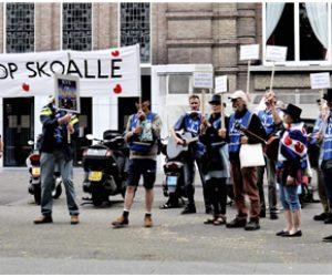 Manifestaasje Sis Tsiis op tongersdei 17 oktober
