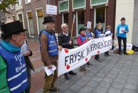 Protestmanifestaasje foar better ûnderwiis yn it Frysk