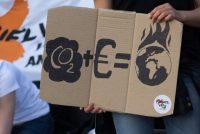 Grutte protestmars yn Madrid