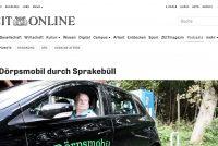 """Noard-Frysk Språkebel """"elektryske-autodoarp"""""""