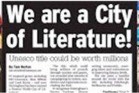 Ljouwert City of Literature: it Frysk moat syn plak(je) witte