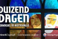 'Tûzen dagen', in podcast oer it tsjerke-asyl fan De Rottefalle