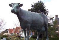 Aant Mulder: Ljouwert, in grinende ko