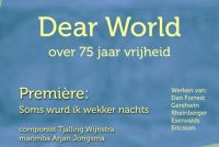 Tekst fan Tiny Mulder yn koarprogramma frijheidsbetinking 'Dear World'