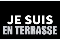 Hashtag #jesuisenterrasse is seldsum wurden