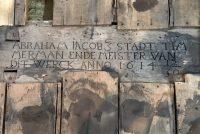 Ynskripsje út 1614 fûn yn earder stedhûs Boalsert