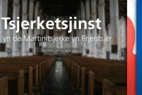 Snein 28 juny de lêste tsjerketsjinst by Omrop Fryslân