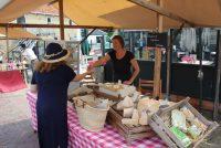 Farske streekprodukten op Boeremerk Wâldsein op tongersdeis