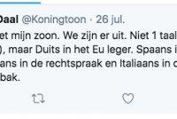 Jo deistige anty-Fryske tweet