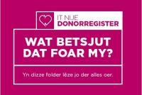 It ferhaal fan de Frysktalige donorfolder