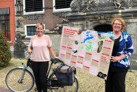 Lansearring sûne en duorsume fytsrûte by de Fryske Marren lâns