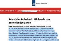 Ynformaasje Nederlânske oerheid doocht net: wy meie wol sûnder test of karantêne nei East-Fryslân ta