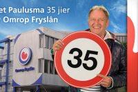Feest by Omrop Fryslân: 35-jierrich jubileum Piet Paulusma