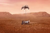Earste fideobylden robot Perseverance op Mars