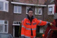 Nije poëzijfideo fan Nyk de Vries by gedicht 'Asman/Jiskeman'