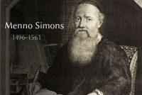Boek Menno Simons einliks yn it Frysk