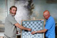 Fyfde partij WK Frysk damjen is winst foar Groenveld