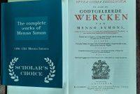 Menno Simons as rjochtsinnich kristen