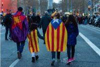 Fleet fan minsken ropt om ûnôfhinklikens Kataloanië